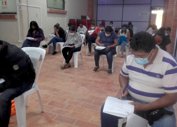 Beni: inician selección de capacitadores con miras a las elecciones del 7 de marzo