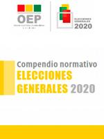 Compendio Normativo – Elecciones Generales 2020