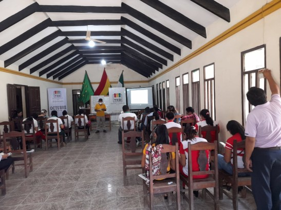 El TED Beni continúa con la capacitación a maestras y maestros para la conformación de gobiernos estudiantiles